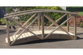 Garden Bridge 1500mm x 600mm With Handrails