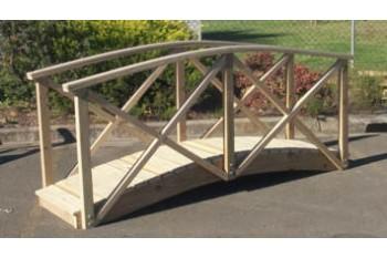 Garden Bridge 2400mm x 600mm With Handrails