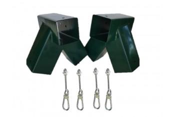 DIY Double Swing Set GREEN
