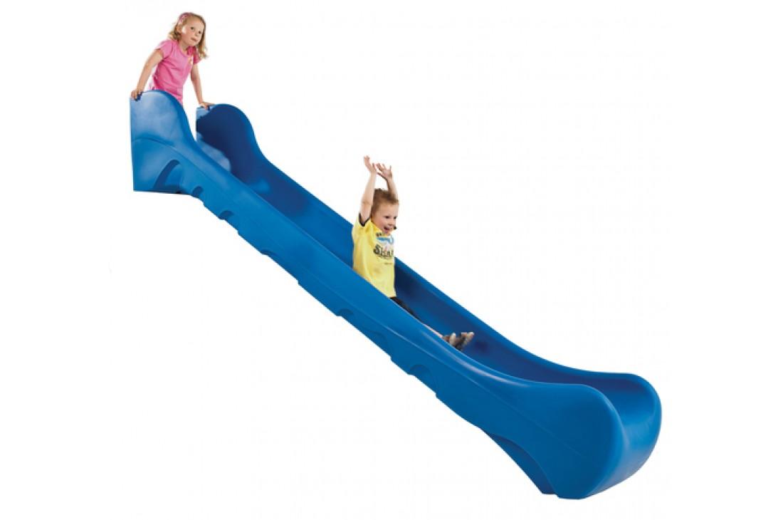 1.5m high standalone Commercial slide 'Bronco' - BLUE