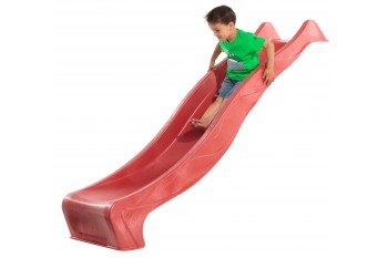1.2m high slide 'reX' with water feature attachment - RED