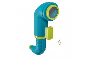 Jumbo Periscope 'Star' - Turquoise & Lime green