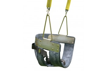 Half Bucket Adult Disabled Seat With Commercial Chains