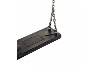Rubber Swing Seat 'Basic' With Stainless Steel Chains KBT