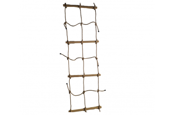 Rope ladder Double With Rope and Wooden Rungs