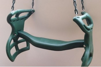 DUO SWING SEAT GLIDER With Plastic Coated Chains