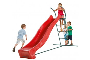 2.28m Slide RED with 1.2m High Free Standing Ladder Kit
