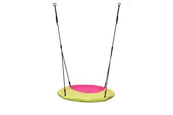 Nest Swing 'WINKOH' (sensory swing) Lime/Pink