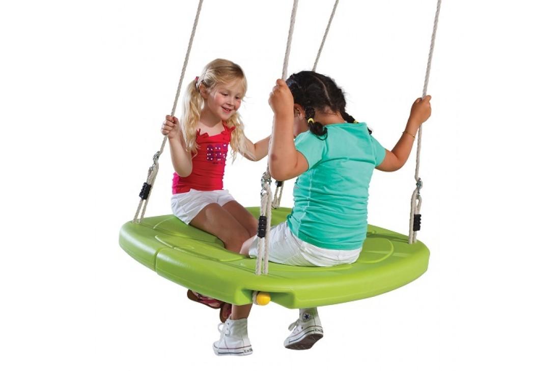 NEST SWING SQUARO LIME With Adjustable PH Ropes (sensory swing)