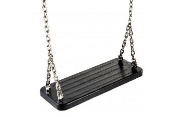 Rubber Swing Seat 'traditional' With Stainless Steel Chains KBT