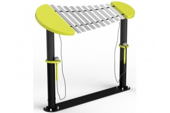 Xylophone Wind Piano - Musical Instrument Inclusive Commercial Play Equipment