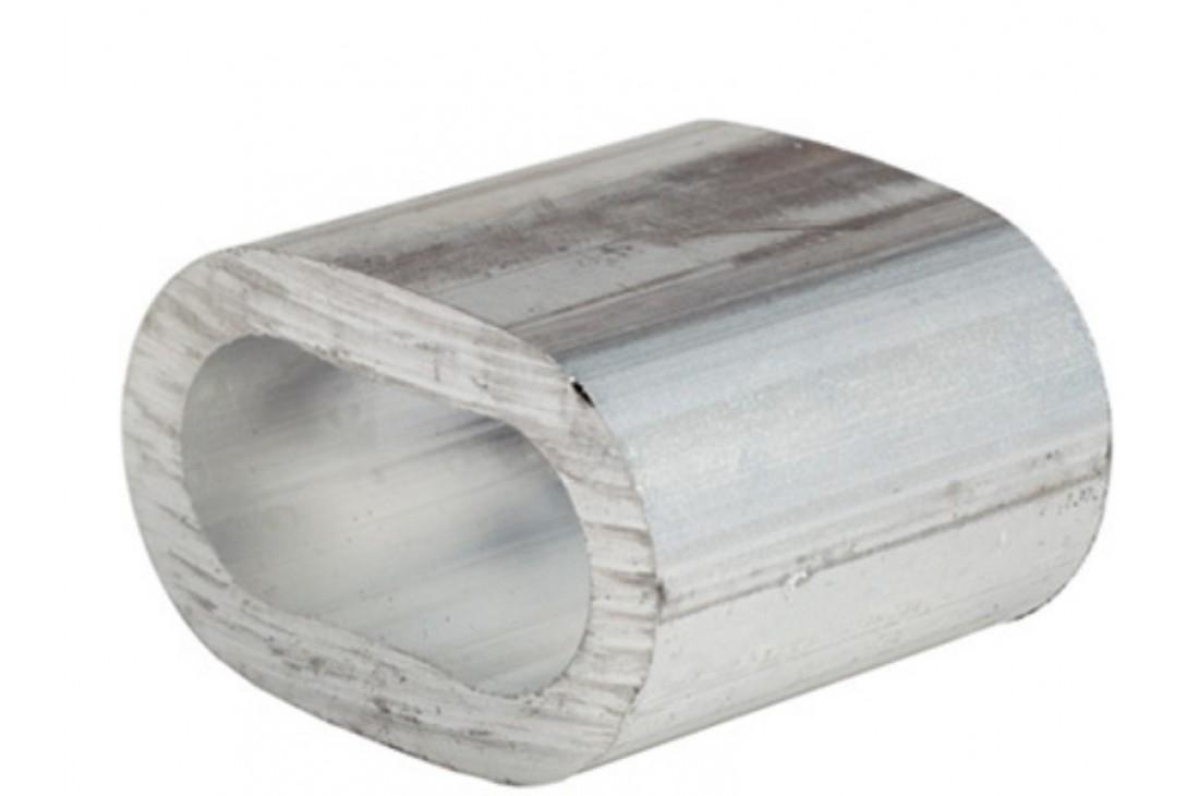 Aluminium clip ring- oval - 39 mm  1pc
