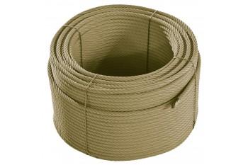 Armed Rope Roll Beige 220m