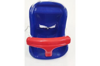 Zac Moulded Infant Seat With Ropes Blue/ Red