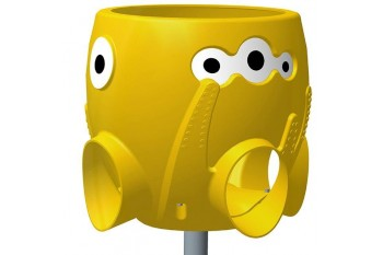 Ball Catcher and Pole Commercial Octopus YELLOW