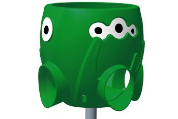 Ball Catcher and Pole Commercial Octopus GREEN with pole