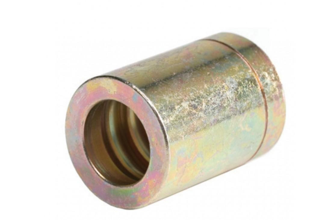 Bichromatised Steel Clip Ring 1pc