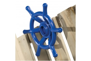 Steering Wheel Boat Blue