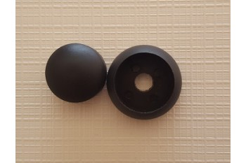 Plastic Bolt Cover 10-12mm BLACK