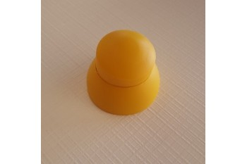 Plastic Bolt Cover 10-12mm YELLOW