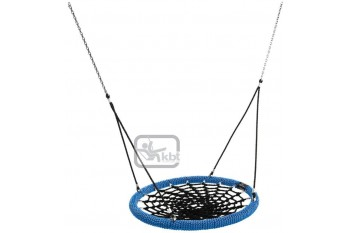 Nest Swing Birdie Commercial 1.2m BLACK/BLUE 2 Point Fixing
