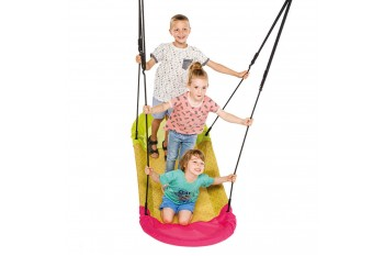 Nest Swing GRANDOH Pink With Adjustable Ropes (sensory swing)