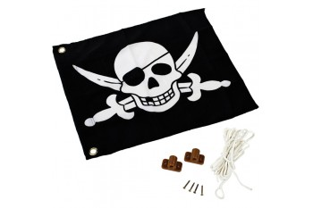 Flag With Hoisting System PIRATE FLAG