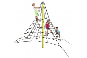 Commercial Armed Rope Pyramid Net 2.5m