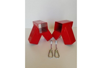 DIY Single Swing Set RED