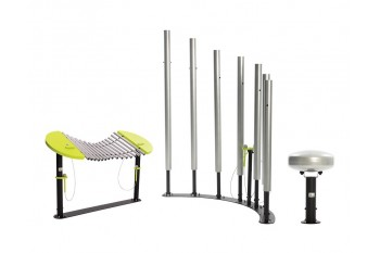 Commercial Inclusive Playground Equipment KBT Music Instrument Set - Creative Symphony