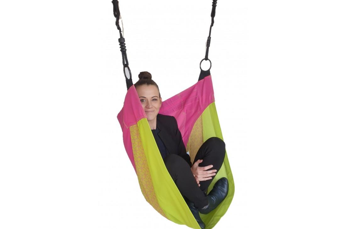 Cocoon Hammock Swing 'DENOH' (sensory swing) Pink