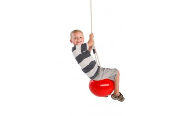 Buoy Ball 'MANDORA' 30cm Swing With Adjustable Rope - Red