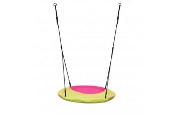 Nest Swing 'WINKOH'  (sensory swing) magenta/lime green