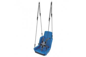 Special needs swing 'rope set' With Safety Harness (sensory swing) - BLUE