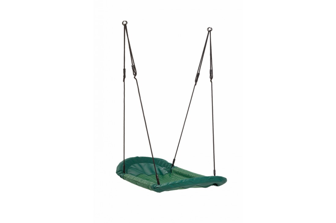 Nest Swing 'Grandoh' with adjustable Ropes  (sensory swing) - GREEN