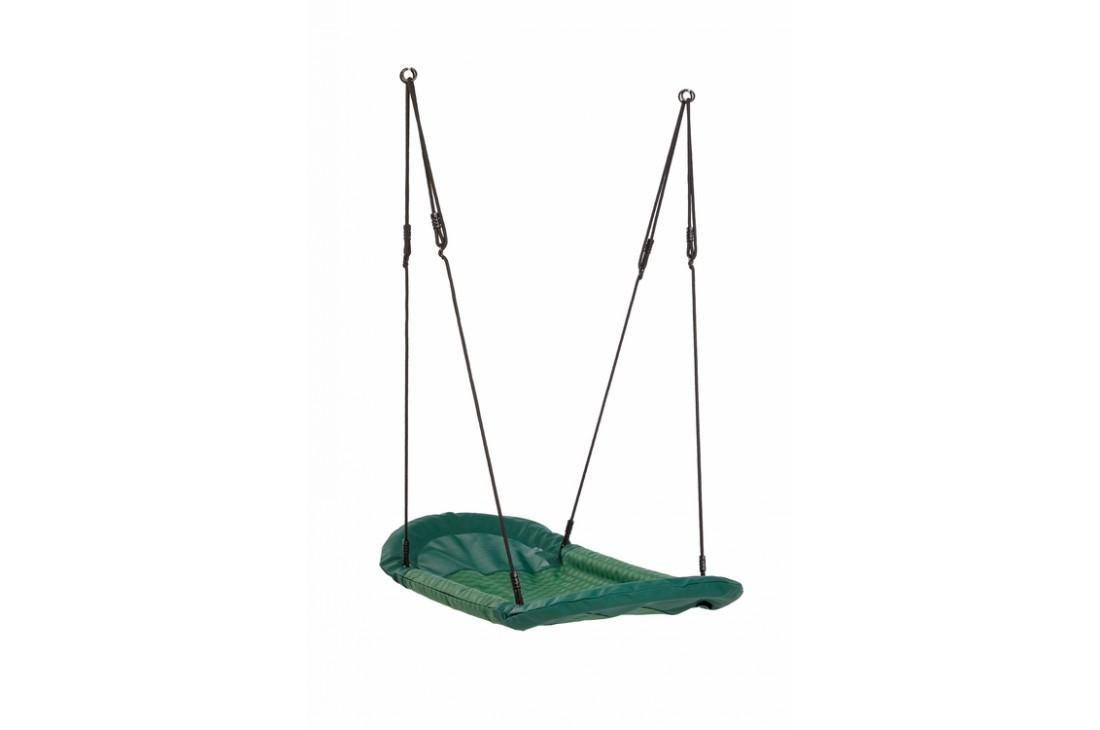 Nest Swing 'Grandoh' with adjustable Ropes  (sensory swing) - GREEN