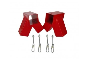 DIY Double Swing Set RED