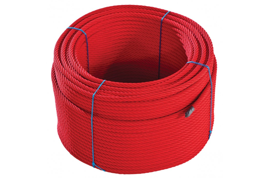 Armed Rope Roll Red 220m