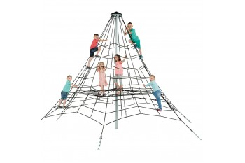 Commercial Armed Rope Pyramid Net 3.5 High