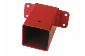 Swing Wall Bracket Connection - Square RED