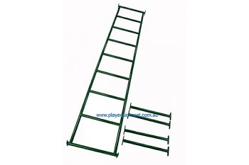 Monkey Bars GREEN With Step Rails