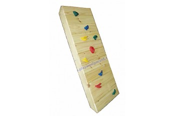 Rock Climbing Wall Unstained