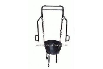 Half Bucket Adult Disabled Swing Seat + Support Frame