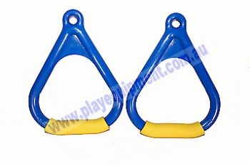 Triangle Handle Grips BLUE/YELLOW