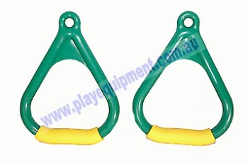 Triangle Handle Grips GREEN/YELLOW