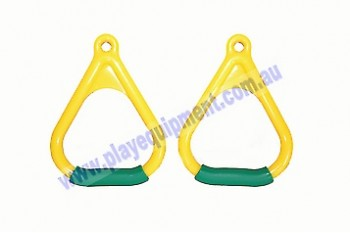Triangle Handle Grips YELLOW/GREEN