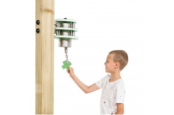 Commercial Play Equipment Bell 'x'-Stainless Steel HDPE KBT