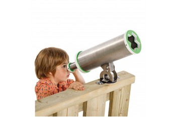 Commercial Play Equipment Telescope 'x'-Stainless Steel HDPE KBT