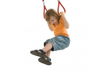 Commercial climbing armed rope twirl handle