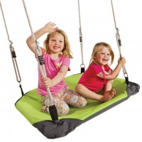 Nest Swing Caladin LIME/BLACK With Adjustable PH Ropes (sensory swing)
